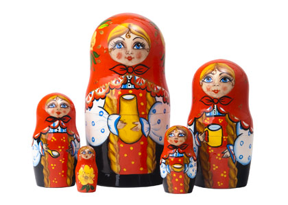 Milkmaid Classical Doll 5pc./6
