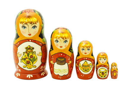 Samovar Classical Doll 5pc./6