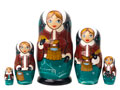 Water Carrier Classical Doll 5pc./6