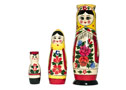 Semyonov Tall Girl Doll 3pc./8