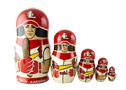 St. Louis Cardinals Team Doll 5pc./6