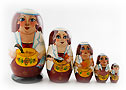 "Female Chef Doll 5pc./6"" - Caricature & Portrait Items"