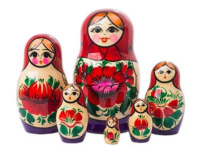 Nolinsk Doll 6pc./4.5