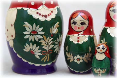 Nolinsk Straw Inlay Doll 8pc./6