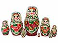 Nolinsk White Scarf Doll 8pc/7