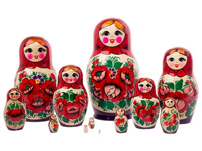 Nolinsk Doll 12pc./9.5
