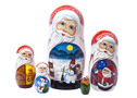 Christmas Moon Doll 5pc./6