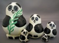 Happy Panda Doll 5pc Small - Collectible Bears