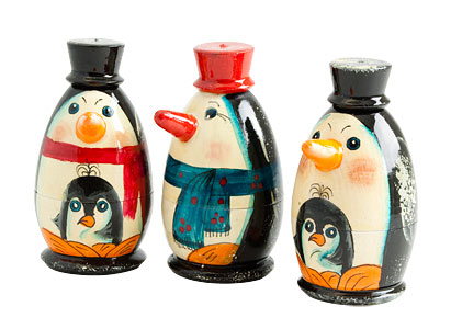 Penguin Club Doll 3pc./3