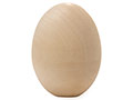 Unpainted Wooden Egg 2.5""