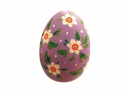 Pastel Hollow Easter Egg, Wood 2.5