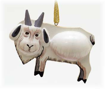 Goat Ornament 2.5