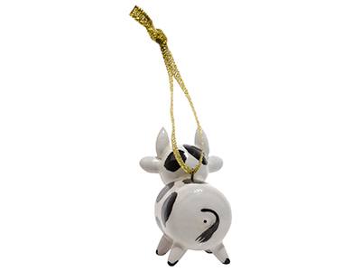 Holstein Cow Ornament  2