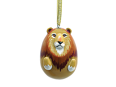 Lion Ornament 2