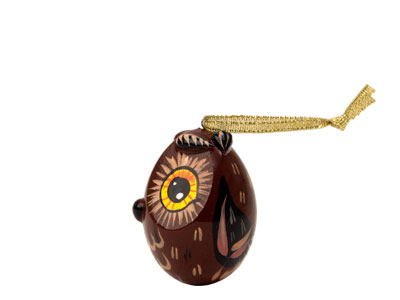 Owl Ornament, 2