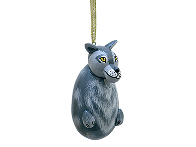 Wolf Ornament 2