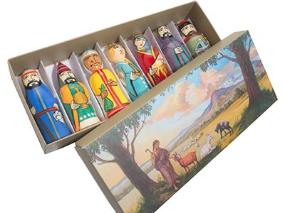 Nativity Ornaments Set of 7
