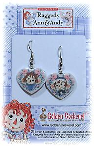 RAGGEDY ANN & ANDY Earrings-WIRES