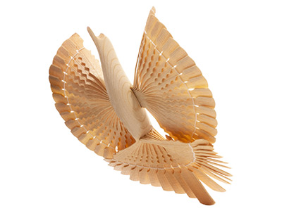Carved Bird of Happiness 6