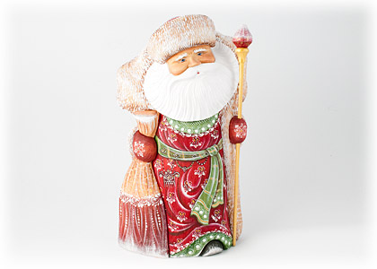 Father Christmas Carving 13.5