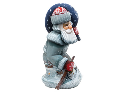 Hunched Peaceful Village Father Frost with Starry Sack 8