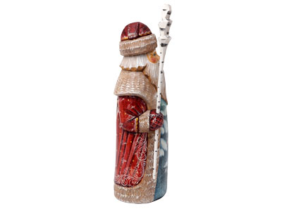 Snow Birds Father Frost Statuette