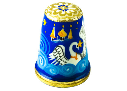 Swan Princess Thimble