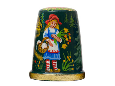 Little Red Riding Hood Thimble