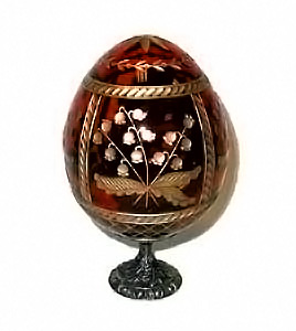 Strawberries RED Faberge Style Egg