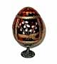 Strawberries RED Faberge Style Egg  - Gift For Her