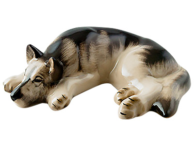 German Shepherd Figurine