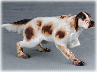 Tan and White English Setter