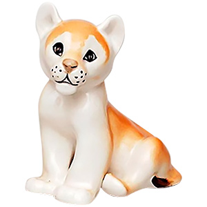 Young Lion King Figurine