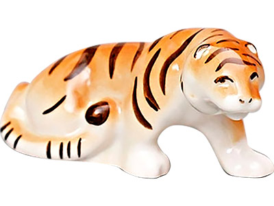 Stalking Tiger Figurine