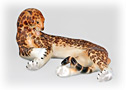 Porcelain Jaguar Figurine