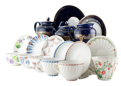 Mad Hatter Tea Set 24 pc.