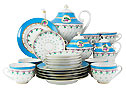Anastasia Tea Set, 21 pcs. - Lomonosov Porcelain