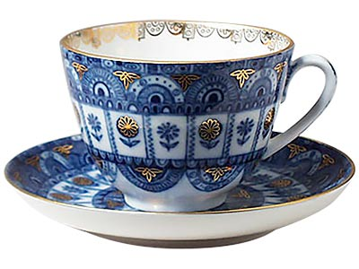 Arches Tea Cup and Saucer