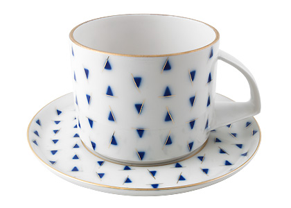 Baltic Ice Porcelain Cup & Saucer