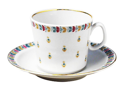 Chintz Coffee Cup and Saucer