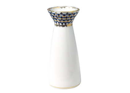 Cobalt Net Flower Vase, youth