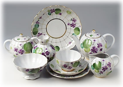 Forest Violet Tea Set 6/24