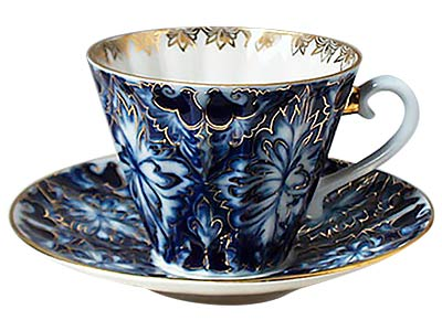 Grouse Tea Cup w Saucer