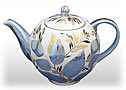 Moonlight Tea Pot - Porcelain Teapots