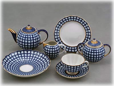 Quatro 20pc.Tea Set for 6