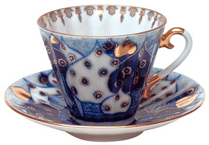 Russian Domes Tea Cup and Saucer