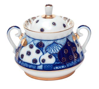 Russian Domes Sugar Bowl