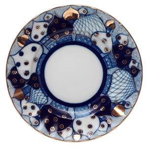 Russian Domes Dessert Plate 7  sc 1 st  Golden Cockerel & Russian Domes Dessert Plate 7\u0027 - Porcelain Plates