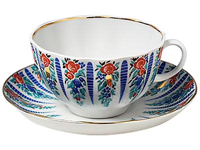 Sarafan Tea Cup and Saucer