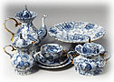 Singing Garden Tea Set 6/22 - Lomonosov Porcelain